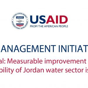 WATER MANAGEMENT INITIATIVE (WMI)